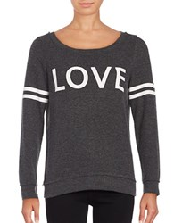 Chaser Long Sleeve Jersey Knit T Shirt Black