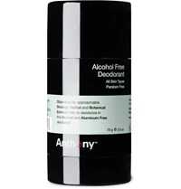 Anthony Logistics For Men Alcohol Free Deodorant 70G Colorless