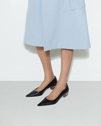 Marni Ball Heel Pump Black