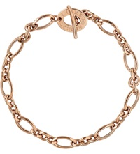 Links Of London Signature 18Ct Rose Gold Charm Bracelet