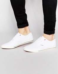 Jack And Jones Jack And Jones Spider Canvas Plimsoll White