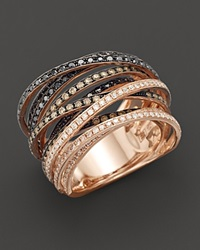 Bloomingdale's Multi Color Diamond Ring In 14K Rose Gold 1.75Ct. T.W. No Color