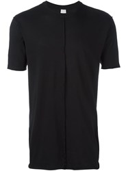Damir Doma Ribbed Detail T Shirt Black