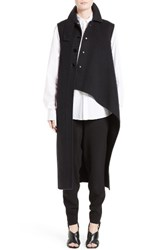 Marni Women's Wool Alpaca And Cashmere Asymmetrical Vest
