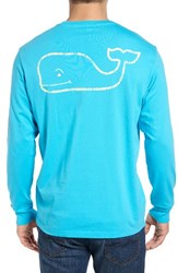 Vineyard Vines Men's Vintage Whale Graphic Pocket T Shirt