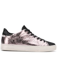Crime London Beat Low Top Sneakers Pink And Purple