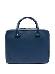 Connolly 24Hr Grained Leather Case Blue