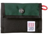 Topo Designs Snap Wallet Forest Black Bags Green