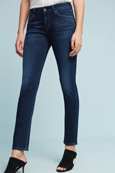 Anthropologie Citizens Of Humanity Arielle Low Rise Skinny Petite Jeans Denim Medium Blue