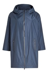 Brunello Cucinelli Hooded Coat With Cotton
