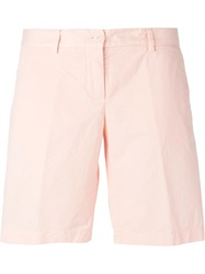 Aspesi Knee Length Shorts Pink And Purple