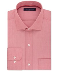 Tommy Hilfiger Men's Classic Fit Non Iron Solid Dress Shirt