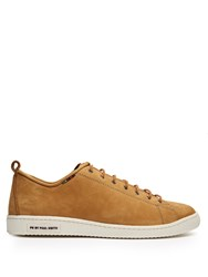 Paul Smith Miyata Suede Low Top Trainers Tan
