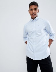 Produkt Basic Oxford Shirt In Slim Fit Chambray Blue