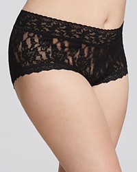Hanky Panky Plus Signature Lace Boyshort 481281X Black
