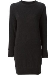 Maison Martin Margiela Maison Margiela Short Sweater Dress Grey
