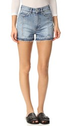 Won Hundred Dee Dee Shorts Light Blue