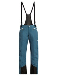 Mover Wool Lined Ski Trousers Blue