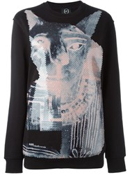 Mcq By Alexander Mcqueen Mcq Alexander Mcqueen Sequinned Animal Sweatshirt Black