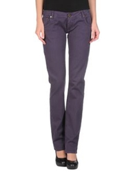 Atelier Fixdesign Casual Pants Purple