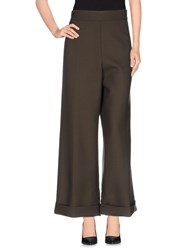 Marni Trousers Casual Trousers Women Military Green