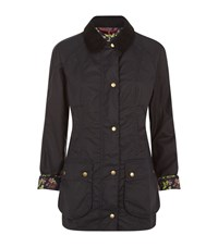 Barbour Alexandria Beadnell Wax Jacket Female Navy
