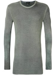 Avant Toi Knit Sweatshirt Green