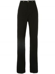 Bassike Slouch Chinos Black