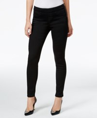 Thalia Sodi Black Wash Side Zip Jeggings Only At Macy's