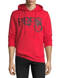 Prps Logo Graphic Hoodie Red