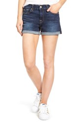 7 For All Mankindr Women's Mankind Cuffed Denim Shorts