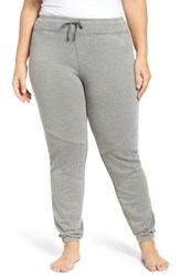 Marika Plus Size Women's Curves Quilted Joggers