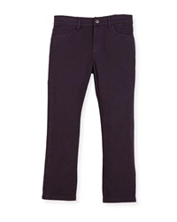 Appaman Skinny Twill Pants Size 2 10 Dark Purple