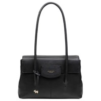 Radley Burnham Beaches Leather Medium Tote Bag Black