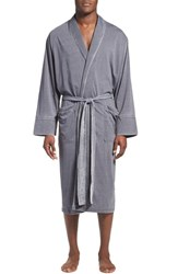 Men's Daniel Buchler Washed Jersey Cotton Blend Robe