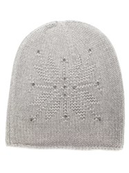 Loro Piana Beaded Beanie Grey