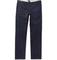 J.Crew 770 Broken In Slim Fit Cotton Twill Chinos Navy