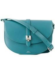 A.P.C. Isilde Saddle Bag Blue