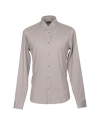 Gazzarrini Shirts Dove Grey