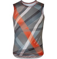 Chpt. 1.81 Printed Mesh Cycling Tank Top Gray