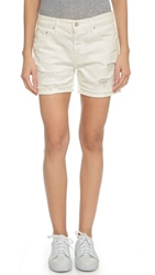 Mother Loosey Fray Shorts Party Crashers