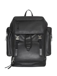 Burberry Grainy Leather Backpack Black