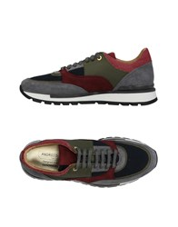 Android Homme Sneakers Military Green