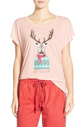 Junior Women's Bp. Undercover Holiday Graphic Tee