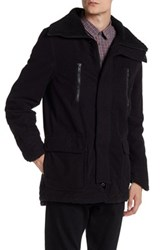 Zadig And Voltaire Kennedy Faux Shearling Lined Long Parka Black