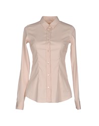 Mauro Grifoni Shirts Shirts Women Light Pink