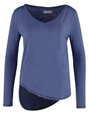 Abercrombie And Fitch Essential Long Sleeved Top Blue