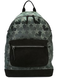 Ports 1961 'Star Camouflage' Backpack Green