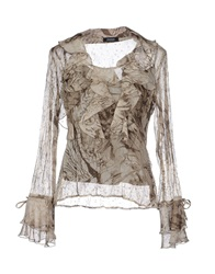 Diana Gallesi Blouses Grey