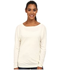 Arc'teryx Quinn L S Top Vintage Ivory Women's Clothing White